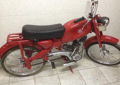 Sabbiatura e Riverniciatura moto d'epoca