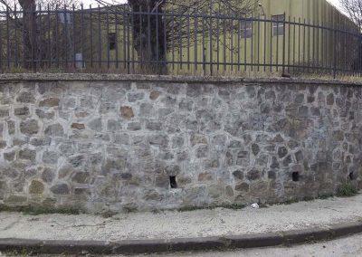 Sabbiatura mura