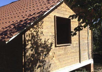 Manutenzione casetta in legno