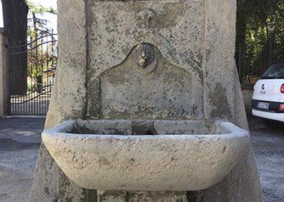 Sabbiatura fontanella