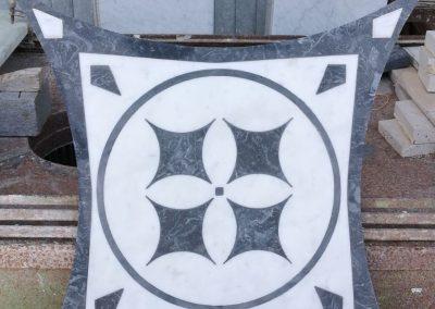 sabbiatura per intarsio marmo