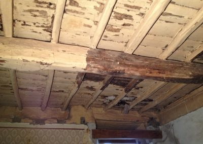 carosi borgo sabbiatura tetto legno